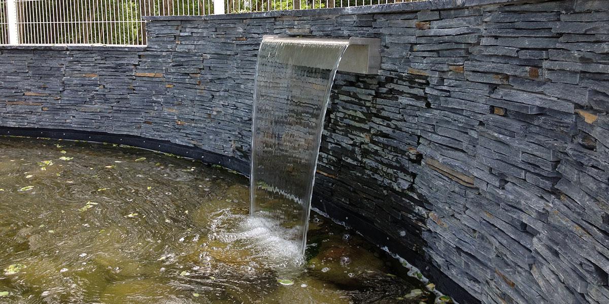 Bassin ardoise - Murmure de jardin