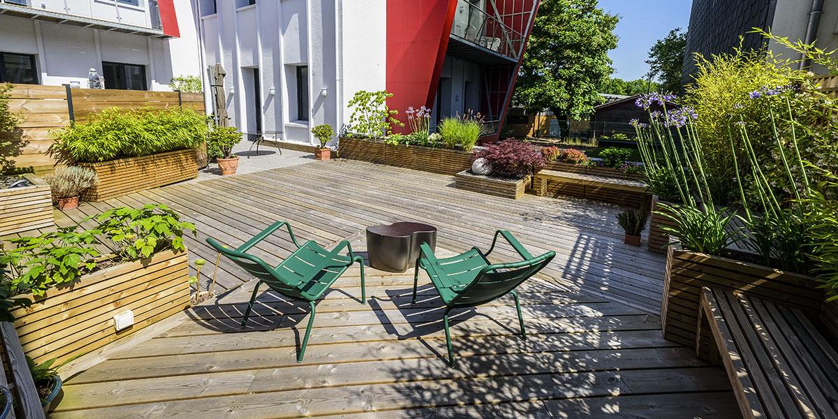 Décoration salon de jardin paysagiste à Pau