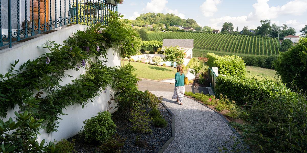 Allée de jardin - Paysagiste Pau