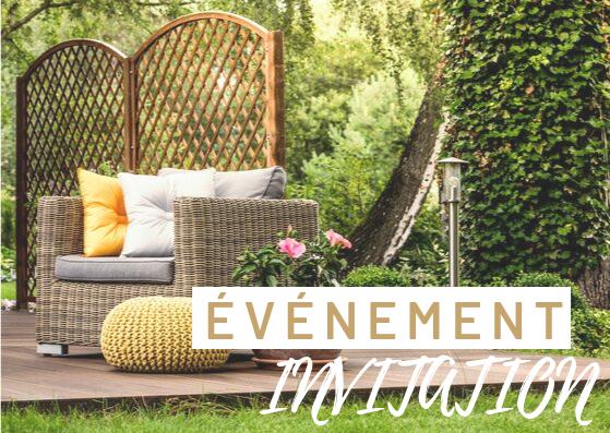 evenement invitation murmures de jardin