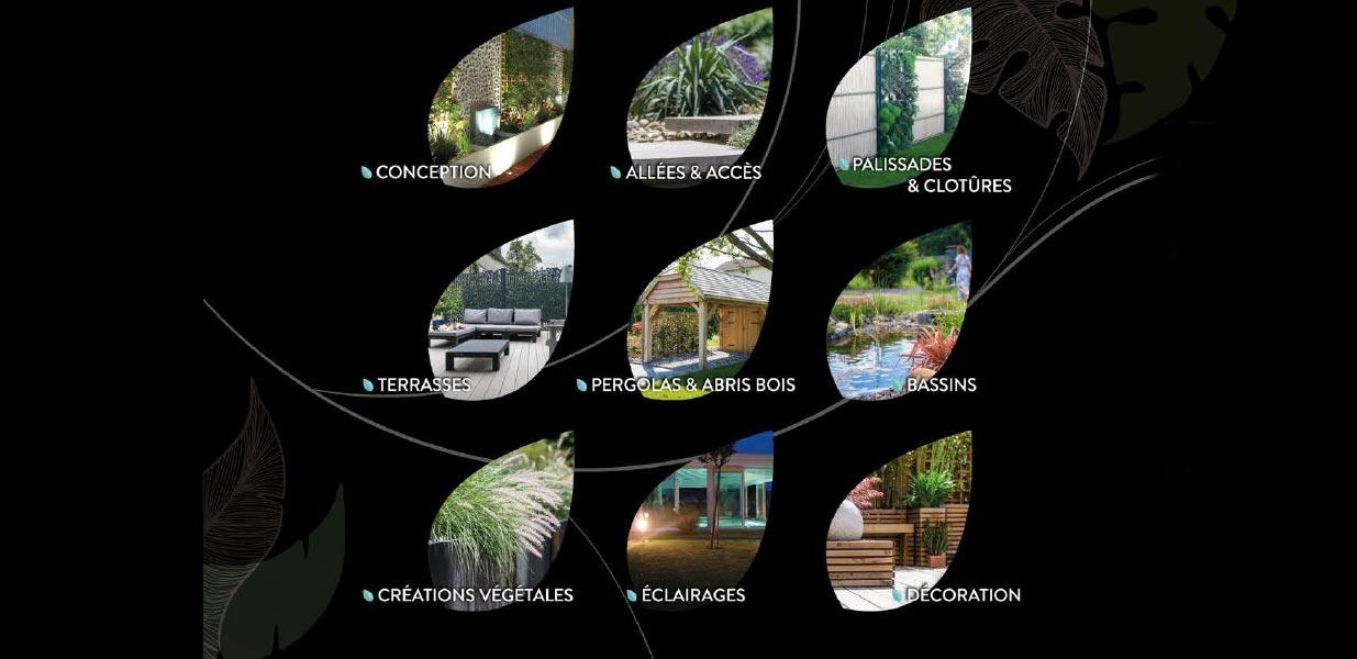 Plaquette Murmures de jardin : dos